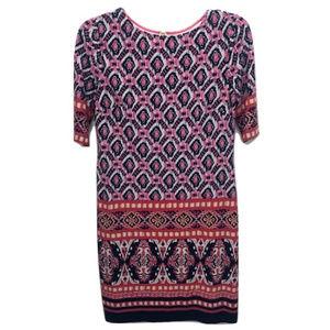 Eliza J Geometric Shift Dress, Size 2